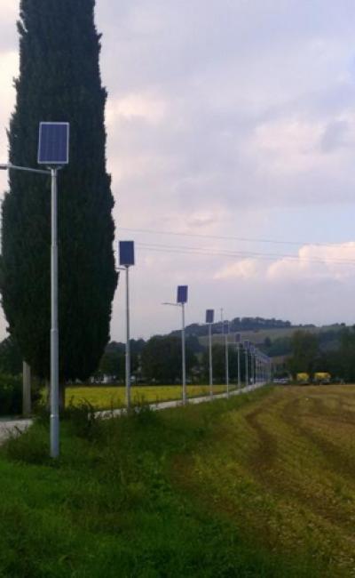 Street Lamps - Montegiorgio